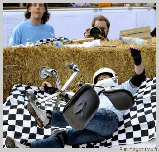 funimages image photo insolite sport chaise course